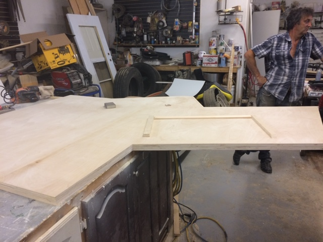 CFXU Broadcast Table under construction
